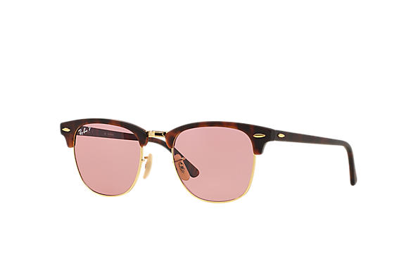 Ray-Ban 0RB3016 - CLUBMASTER CLASSIC Tortoise SUN