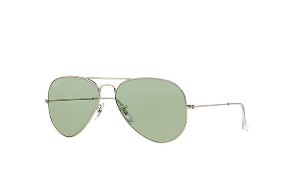 Ray-Ban 0RB3025 - AVIATOR POLAR SPECIAL SERIES Silver SUN