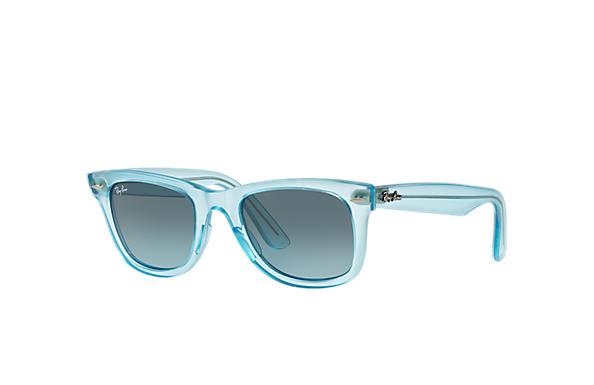 Ray-Ban 0RB2140 - ORIGINAL WAYFARER ICE POPS Bleu clair SUN