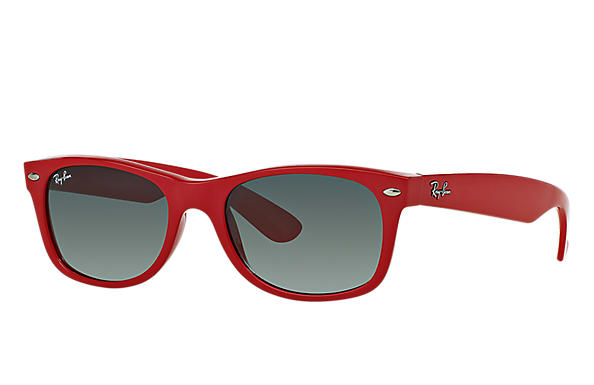 Ray-Ban 0RB2132 - NEW WAYFARER COLOR SPLASH Red SUN
