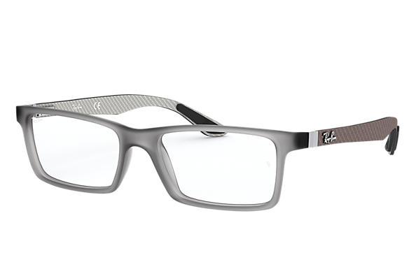 Ray Ban Prescription Glasses Rb8901 Grey Carbon Fibre
