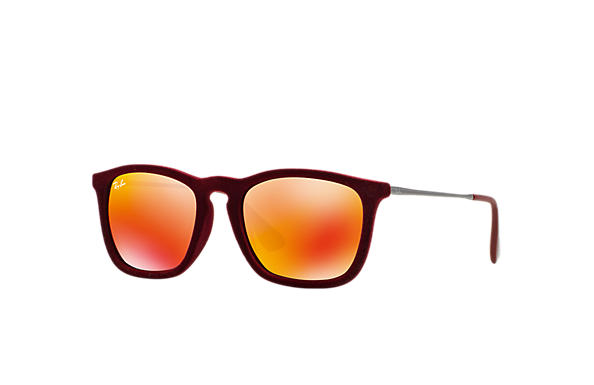 Ray-Ban 0RB4187 - Chris Velvet Bordeaux SUN