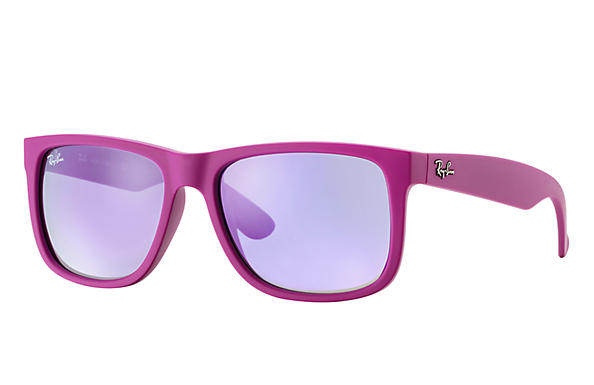 Ray-Ban 0RB4165 - JUSTIN COLOR MIX Violet SUN