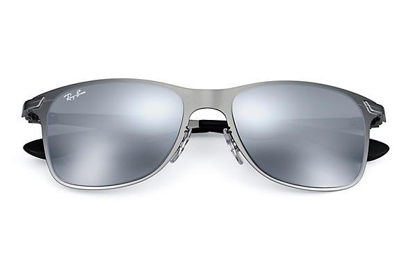 bccb645f08e Ray-ban Rb3521 Wayfarer Flat Metal 029 88