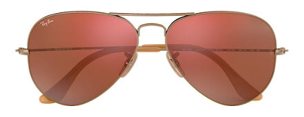 Ray-Ban RB3025 167/2K 58-14 AVIATOR MIRROR Red Mirror Aviator