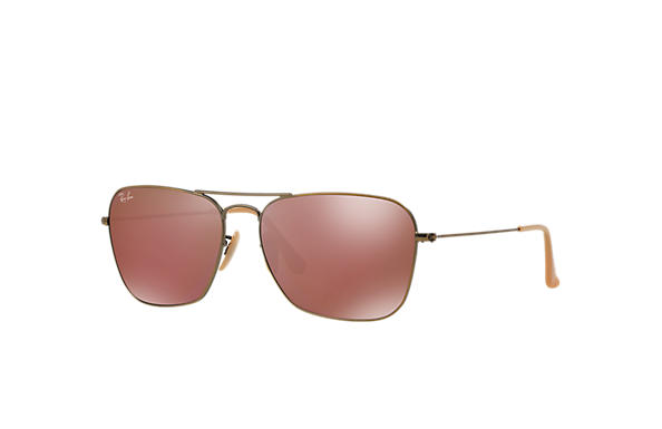 Ray-Ban 0RB3136 - CARAVAN Bronze-Copper SUN