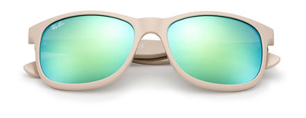 Ray-Ban RB4202 unisex 1 - ANDY Light Brown SUN