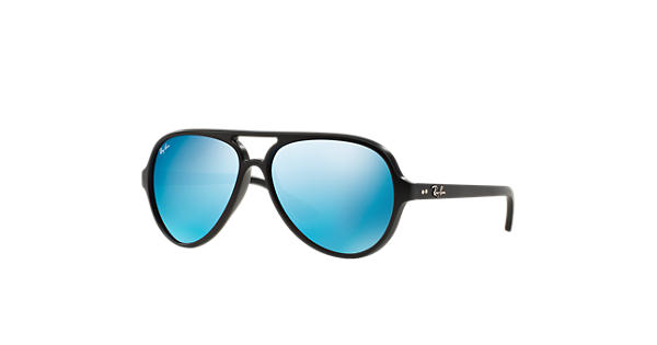ray ban xyq w1  ray ban cats 5000 flash lenses black with blue flash lens