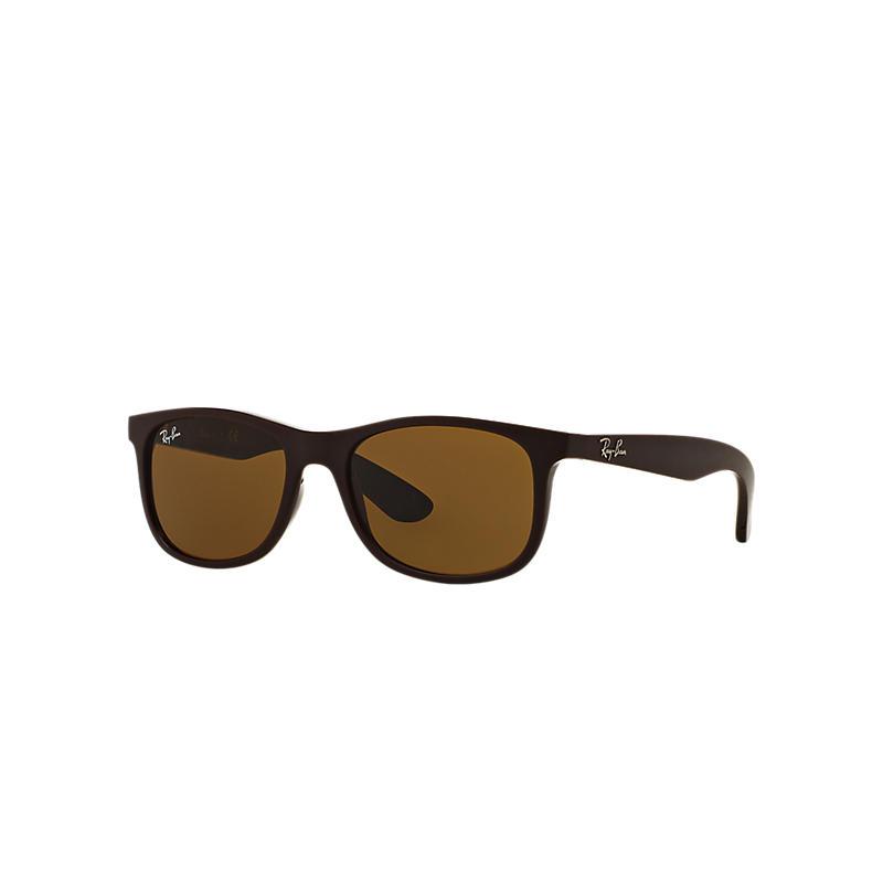 Ray-Ban Junior Red Sunglasses, Gray Lenses - Rj9062s 8053672474640