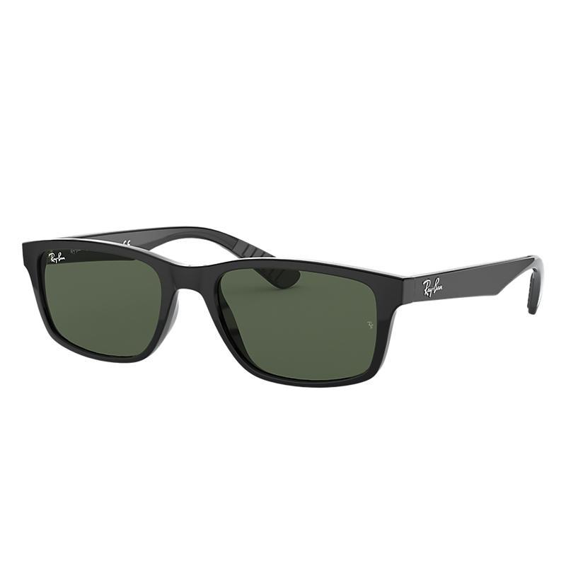 Ray Ban Rb4234 Homme Sunglasses Verres: Vert, Monture: Noir - RB4234 601/71 58-16