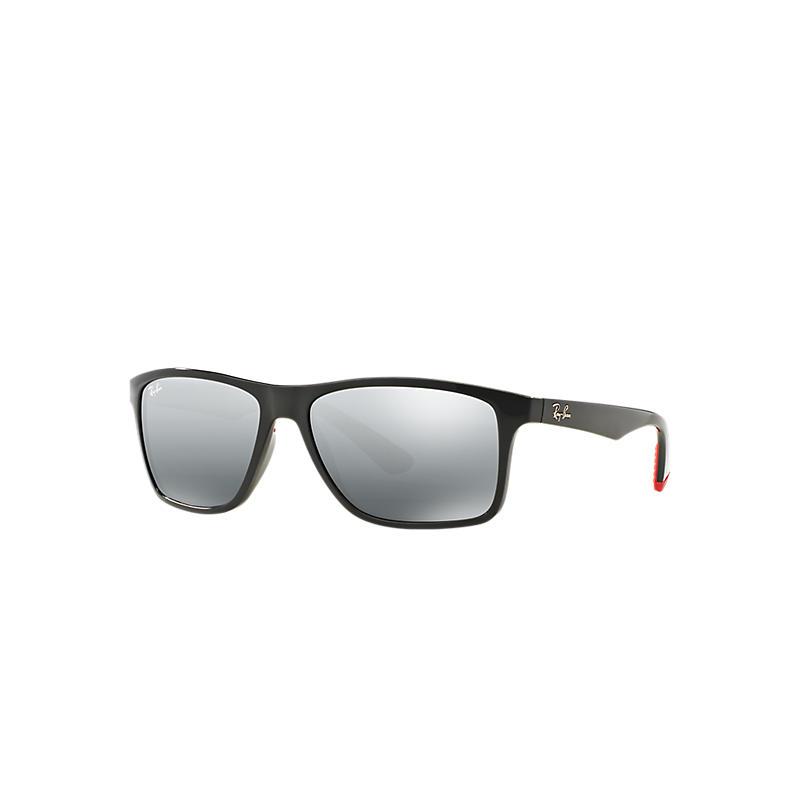 Ray Ban Rb4234 Homme Sunglasses Verres: Gris, Monture: Gris - RB4234 618588 58-16