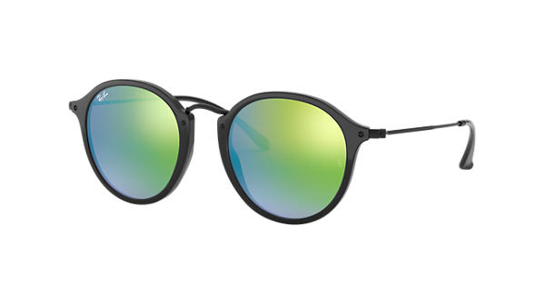 VISTO EN Ray-Ban RB2447 901/4J 49-21 Round Fleck Flash Lenses Gradient Sunglasses 169€