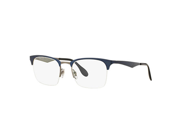 Ray-Ban 0RX6360-RB6360 蓝色,枪色 OPTICAL