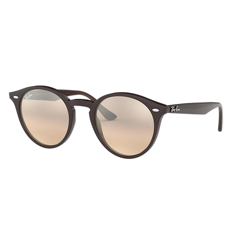 Ray Ban Rb2180 Femme Sunglasses Verres: Marron, Monture: Marron - RB2180 62313D 49-21
