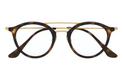 Gold Eyeglass Frames Ray Ban : ray ban schwarz and gold eyeglasses