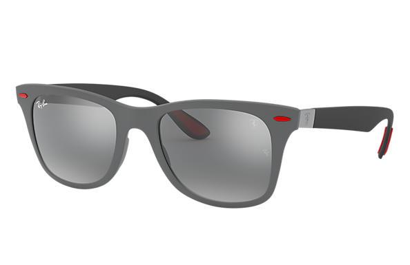 1b5ee214a6 Ray-ban Rb4195m Scuderia Ferrari Wayfarer Sunglasses