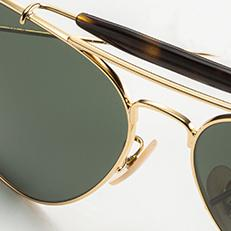 ray ban havana polarized sunglasses  a bold take on a timeless style. ray ban outdoorsman havana