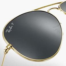 polarized ray ban  ray ban aviator. customize