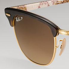 polarized ray ban  ray ban clubmaster. customize