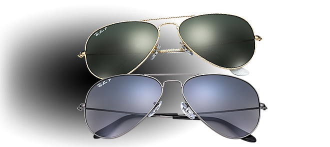 mens ray ban polarised sunglasses  ray ban aviator