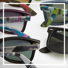 ray-ban wayfarer urban camouflage sunglasses