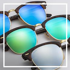 ray-ban sunglasses Clubmaster flash lenses