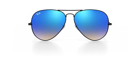 Ray Ban Blue Gradient Flash