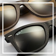 Ray-Ban WAYFARER LEATHER サングラス