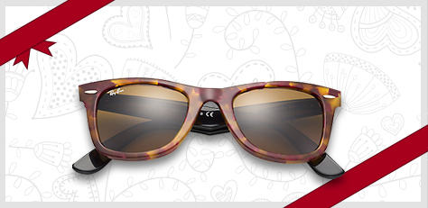 ray-ban wayfarer fleck sunglasses