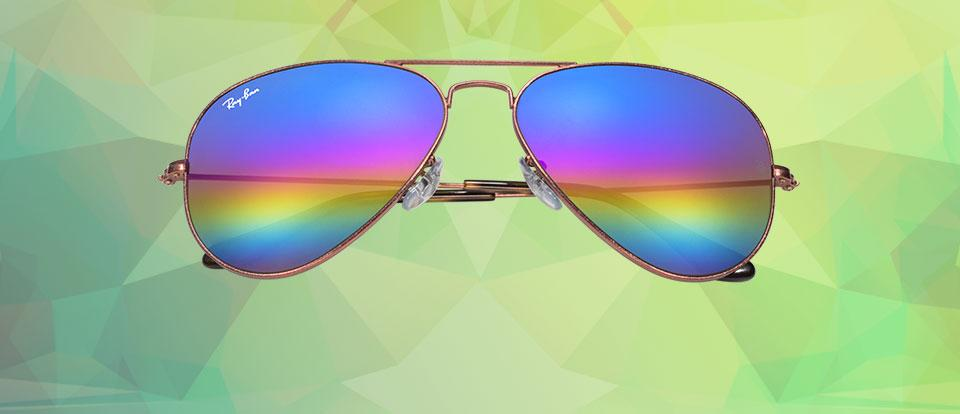Ray-Ban Mineral Flash Lenses