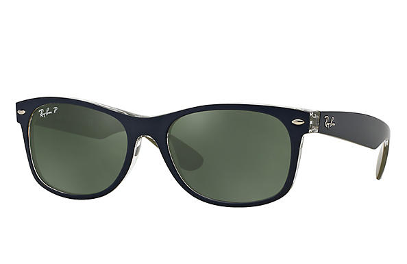 Ray-Ban 0RB2132-NEW WAYFARER Blue ROX_FRAME