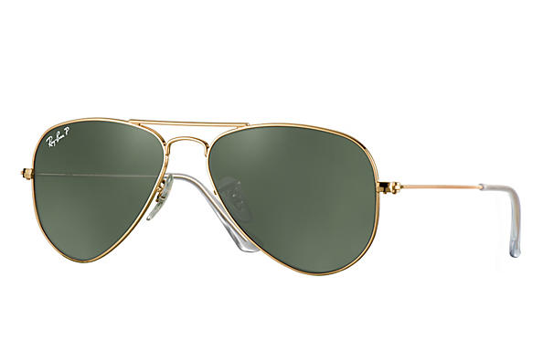 Ray-Ban 0RB3044-AVIATOR SMALL Gold ROX_FRAME