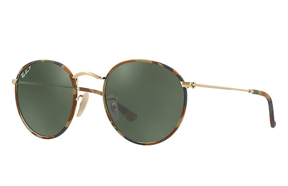 Ray-Ban 0RB3447JM-ROUND CAMOUFLAGE Multicolor; Gold ROX_FRAME