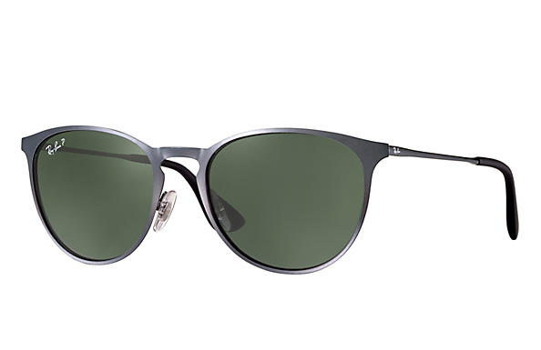 Ray-Ban 0RB3539-ERIKA METAL Grey ROX_FRAME