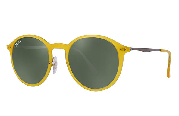 Ray-Ban 0RB4224-ROUND LIGHT RAY Yellow; Gunmetal ROX_FRAME