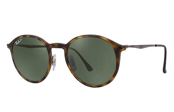 Ray-Ban 0RB4224-ROUND LIGHT RAY Tortoise; Gunmetal ROX_FRAME