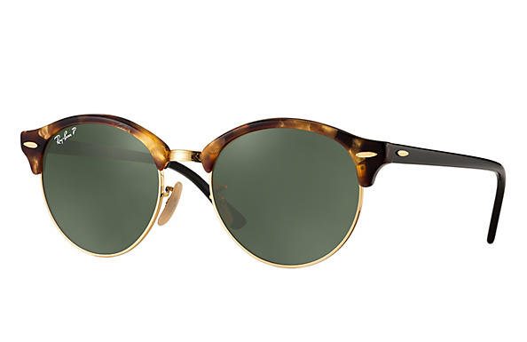 Ray-Ban 0RB4246-CLUBROUND Tortoise; Black ROX_FRAME