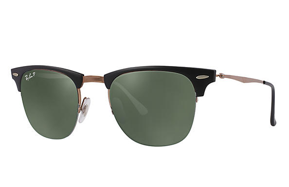 Ray-Ban 0RB8056-CLUBMASTER LIGHT RAY Black; Brown ROX_FRAME