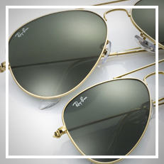 Ray-Ban AVIATOR JUNIOR サングラス