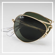 Ray-Ban Aviator Folding サングラス