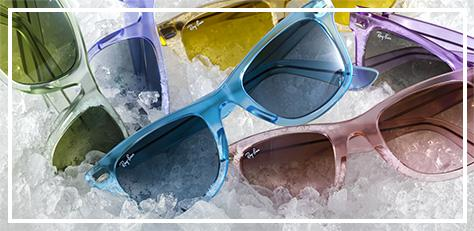 ray-ban icons wayfarer ice pops sunglasses