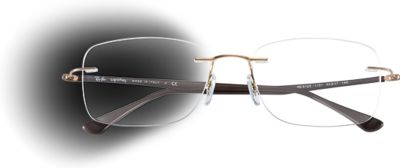 Ray Ban Glasses Without Frame : Rimless Eyeglasses Ray-Ban USA