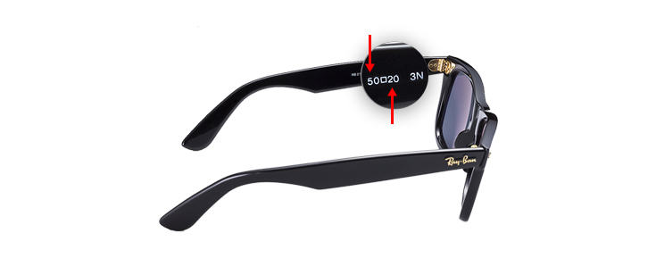 what does ray ban p mean  Ray-Ban庐 Size Guide, Sunglasses \u0026 Eyeglasses Sizes