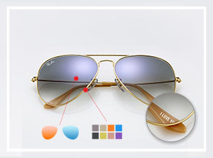 Ray-ban Aviator Custom sunglasses