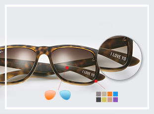 Ray-ban Justin Custom sunglasses