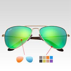 Ray-ban Aviator Custom sunglasses