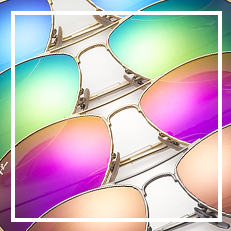 Ray-Ban FLASH LENSES サングラス