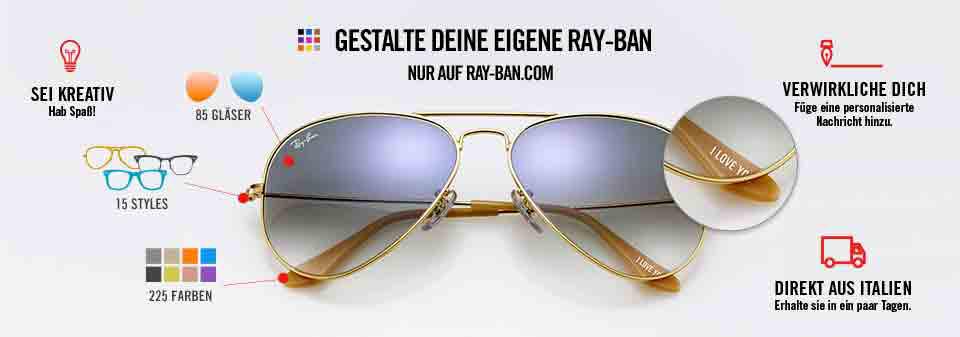 Aviator Personalisieren Ray-Ban Sonnenbrillen | Ray-Ban Online store