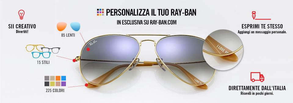 Ray-Ban Remix Aviator Occhiali da Sole Personalizzati | Ray-Ban Online store