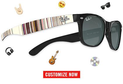 create one of a kind sunglasses for everyone choose color and lenses add your personal message